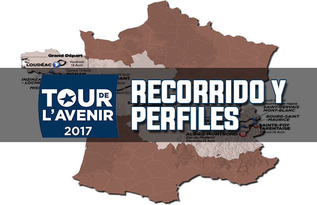 Tour de l'Avenir 2017: Recorrido y Perfil de las Etapas
