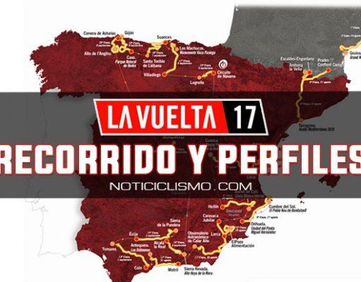 Vuelta a España 2017: Recorrido y perfil de las etapas