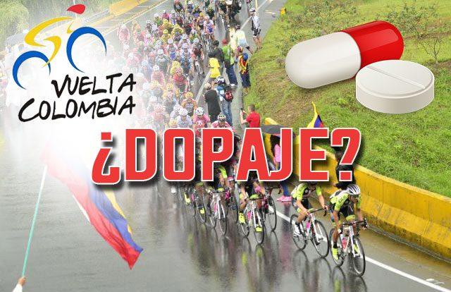 sustancias dopantes en la Vuelta a Colombia