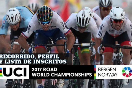 Mundial de Ciclismo Elite Masculino: Recorrido, perfil y lista de inscritos