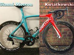 Ciclistas del Team Sky reciben impresionantes Pinarello personalizada