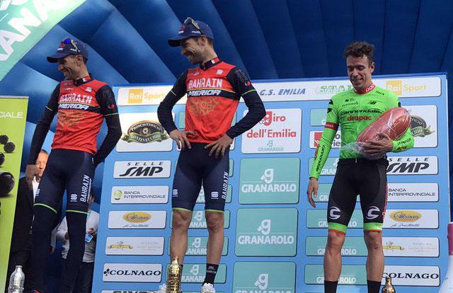 Giro dell'Emilia 2017 – Pódium