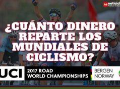 ¿Cuánto Dinero reparte en premios los Campeonatos Mundiales de Ciclismo?
