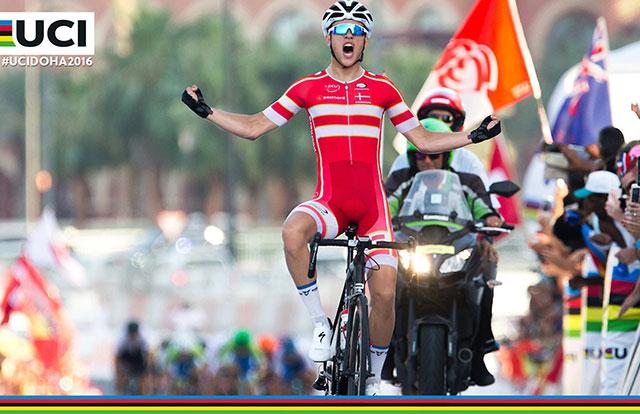 Mundiales de Ciclismo - Jakob Egholm