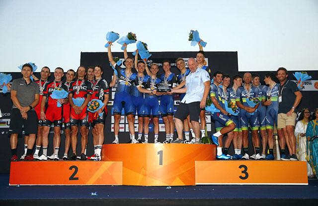 Mundiales de Ciclismo - Podio 2016