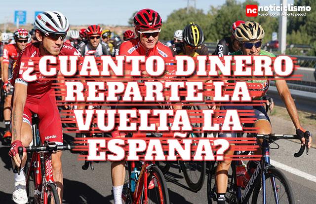 ¿Cuánto dinero reparte en premios la Vuelta a España?