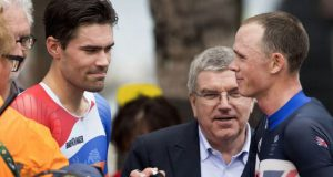 Chris Froome y Tom Dumoulin