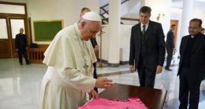El Papa Francisco podría estar en el inicio del Giro de Italia 2018