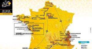 Tour de Francia 2018 - Recorrido