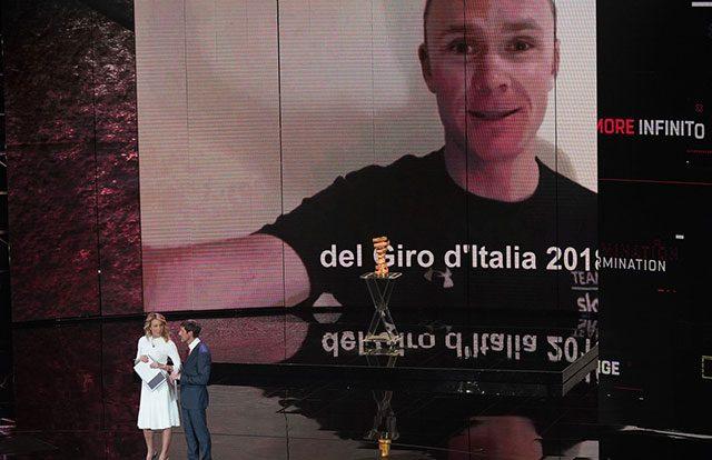 Giro de Italia - Chris Froome