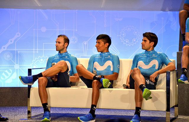 Mikel Landa - Nairo Quintana - Alejandro Valverde
