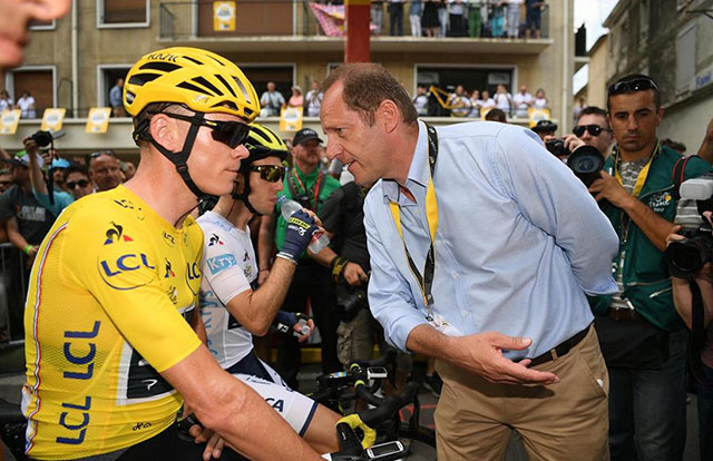 Froome y Prudhomme