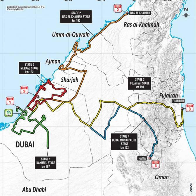 Tour de Dubái 2018