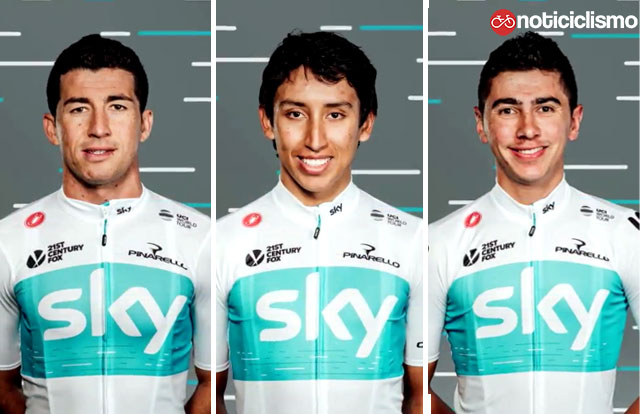 Team Sky - Colombia Oro y Paz