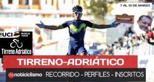 Tirreno-Adriatico 2018 - Portada