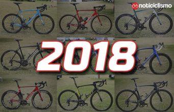 Bicicletas WorldTour 2018