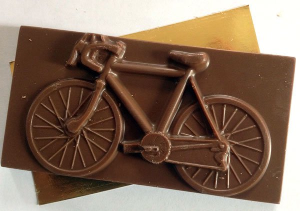 Chocolate en el ciclismo