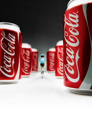 La Coca-Cola en el Ciclismo