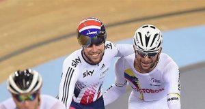 Fernando Gaviria y Mark Cavendish