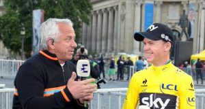 Greg LeMond y Chris Froome