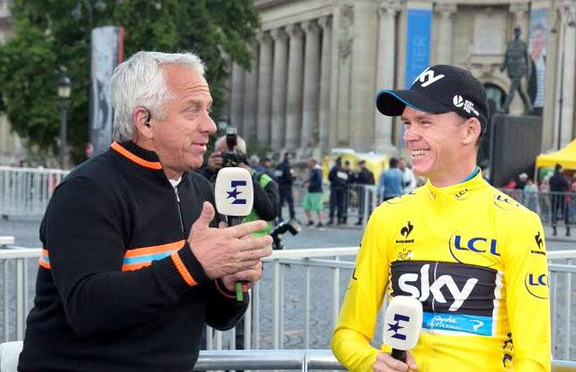 Greg LeMond y Chris Froome