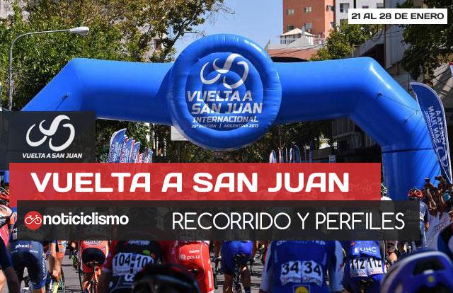 Vuelta a San Juan 2018: Recorrido y Perfiles de Etapas