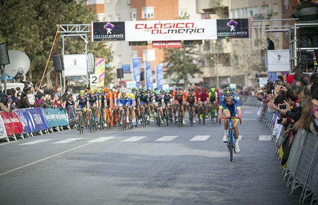 Clásica de Almería 2018 - Listado de Ciclistas Inscritos
