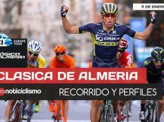 Clásica de Almería 2018 - Recorrido y Perfil de Etapa