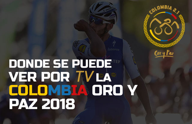 ¿Dónde se puede ver por TV la Colombia Oro y Paz 2018?