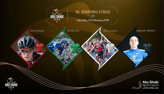 Tour de Abu Dhabi 2018 - Etapa 4