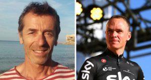 Fabio Bartalucci y Chris Froome