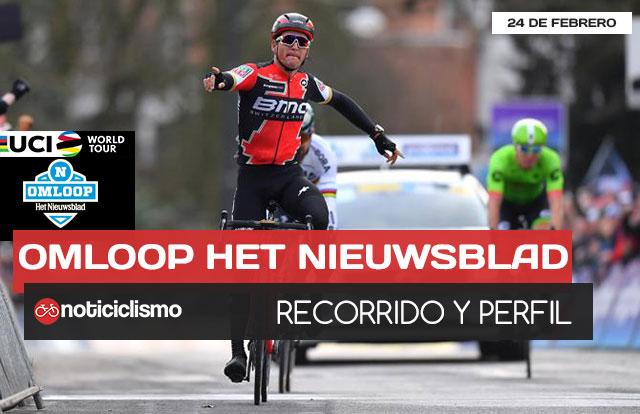 Omloop Het Nieuwsblad 2018- Recorrido y Perfil de carrera