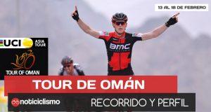 Tour de Omán 2018: Recorrido y Perfiles de Etapas