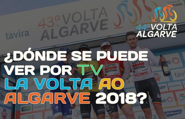 Dónde se puede ver por TV la Volta ao Algarve 2018