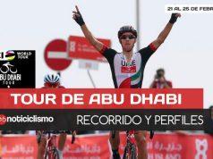 Tour de Abu Dhabi 2018 - Recorrido Portada