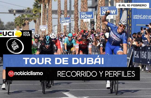 Tour de Dubái 2018 - Portada