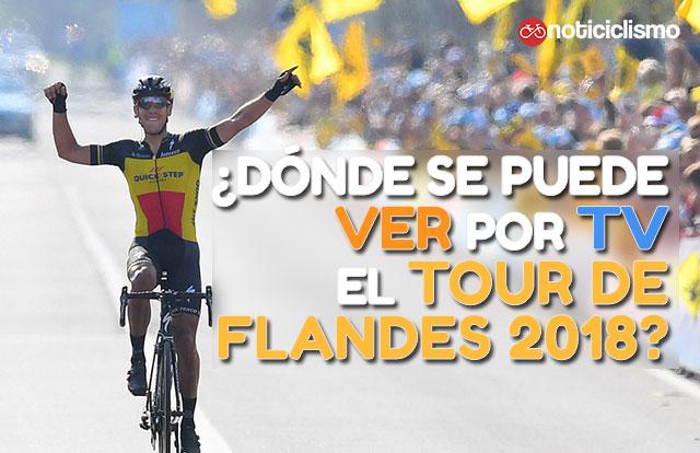 Dónde se puede ver por TV el Tour de Flandes 2018