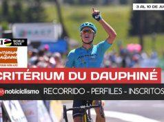 Critérium du Dauphiné 2018: Recorrido, Perfiles de etapas y Lista de ciclistas Inscritos