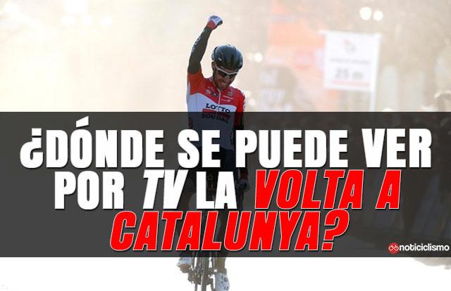 ¿Dónde se puede ver por TV la Volta a Catalunya?