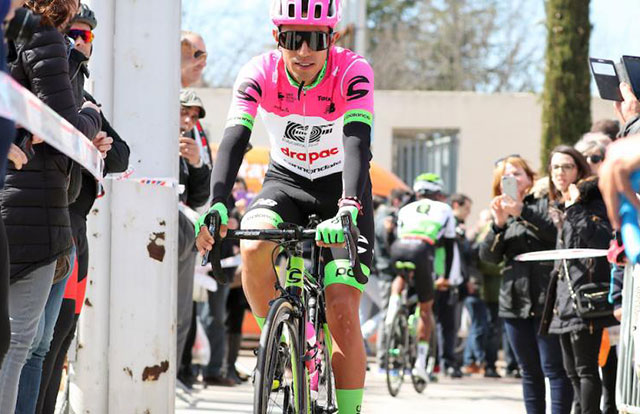 Ciclista colombiano Daniel Martínez agredido por conductor ... Felipe Daniel Martinez