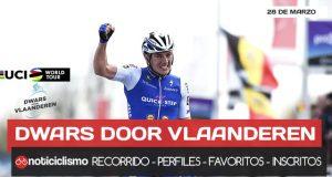 Dwars door Vlaanderen 2018: Recorrido, Perfil de la Carrera, Favoritos y ciclistas inscritos