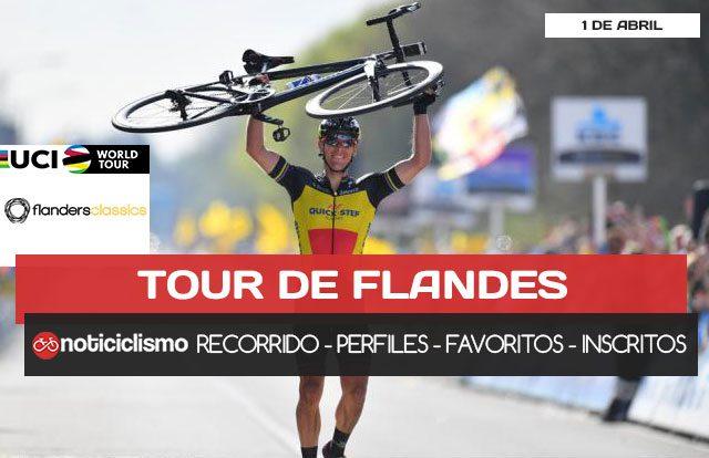 Tour de Flandes 2018 - Portada