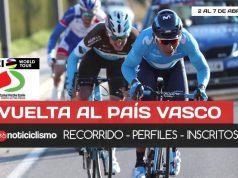 Vuelta al Pais Vasco 2018 - Portada