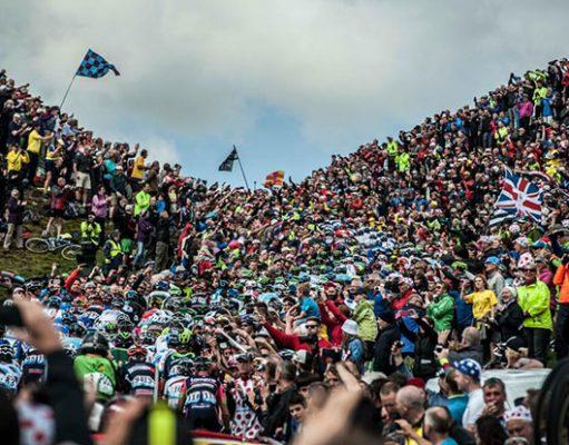 Aficionados del ciclismo