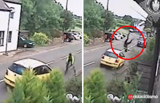 A la cárcel conductor de atropello a ciclista por quedarse dormido mientras conducía