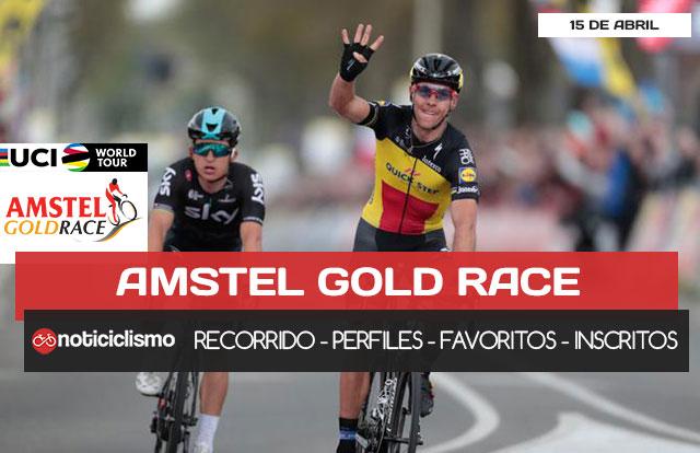 Amstel Gold Race 2018 - Recorrido, Perfil y Lista de Ciclistas Inscritos
