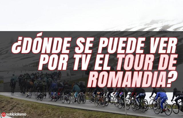 ¿Dónde se puede ver por TV el Tour de Romandía 2019?