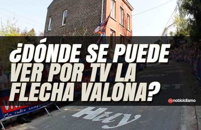 ¿Dónde se puede ver por TV la Flecha Valona?