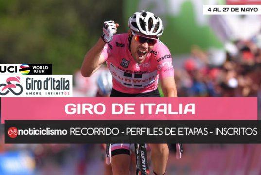 Giro de Italia 2018 - Portada