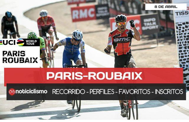 Paris-Roubaix 2018 - Portada